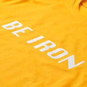 Fe226 Be Iron Camiseta, amarillo